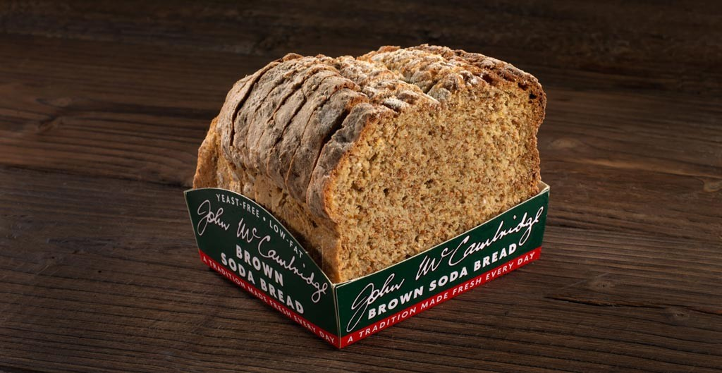 Brown Soda Bread Half Loaf